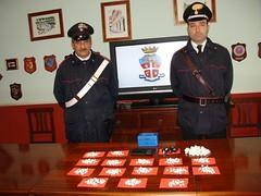Roma: bazaar della cocaina scoperto dai Carabinieri