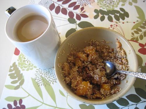 quinoa and coffee