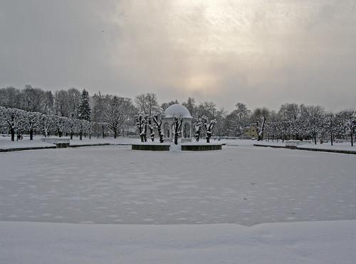 Tallinn, Estonia: Kadriorg Park in winter