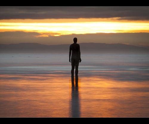 Treading the light fantastic, Crosby beach, Explore Frontpage