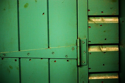 Blue-Green Hinges