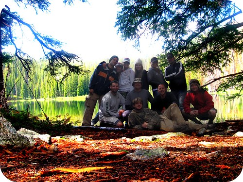 group backpacking 2009