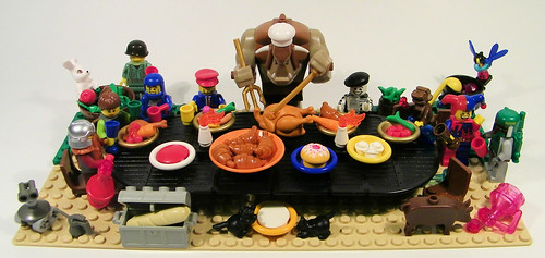 LEGO Thanksgiving Clancy