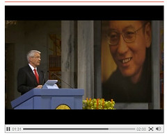 Liu Xiaobo: 2010 Nobel Peace Prize Award Ceremony - pix 1