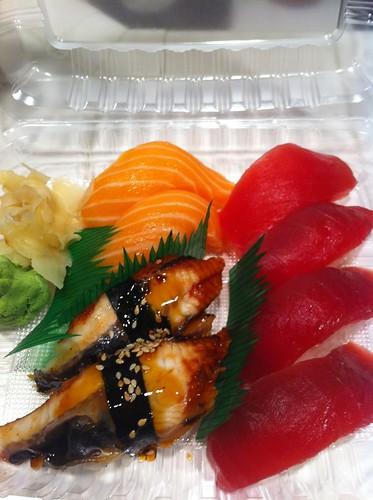 Assorted nigiri @ Truya Sushi