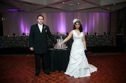 Kimberly & Brett\'s Corpse Bride and Flubber glam Halloween wedding ...