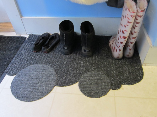 Repaired Foyer Cloud Mats