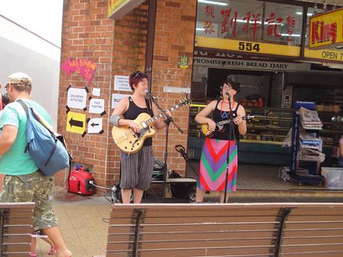 Dulwich Hill Street Fair: Street musicians