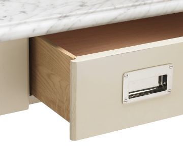 Lenox kitchen island detail