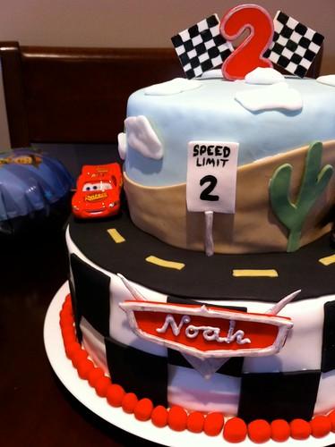 Cars Cake (3/5)