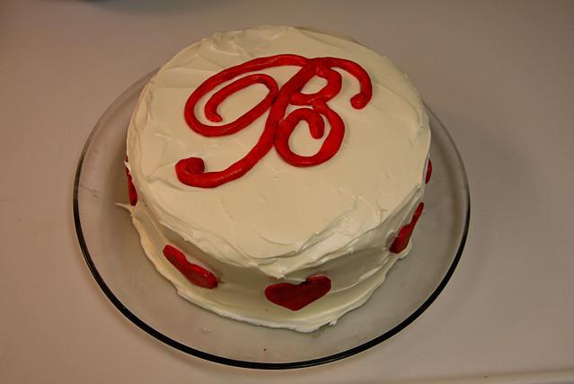 Blythe's First Birthday Cake
