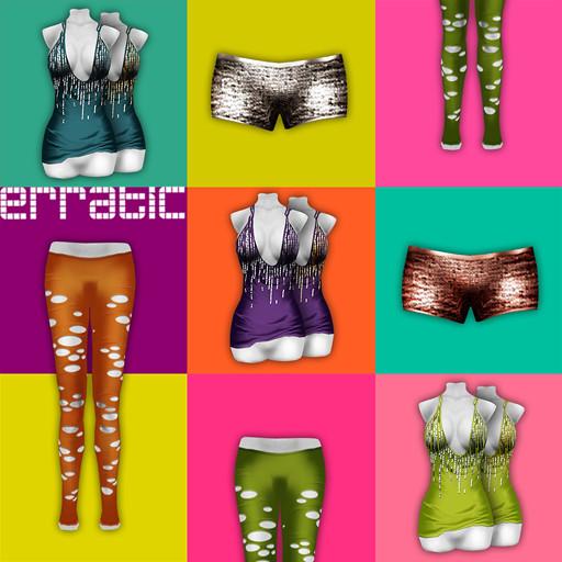/ erratic / nikki+hailey+lasercut leggings