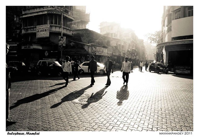 Abbey Road - in our very own Mumbai (Buleshwar Street)