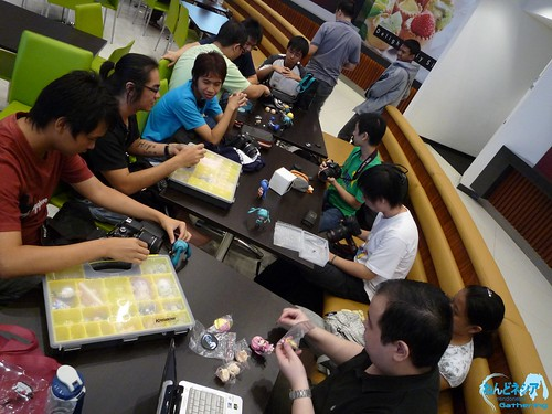 Preparing gears and Nendoroid/Petits