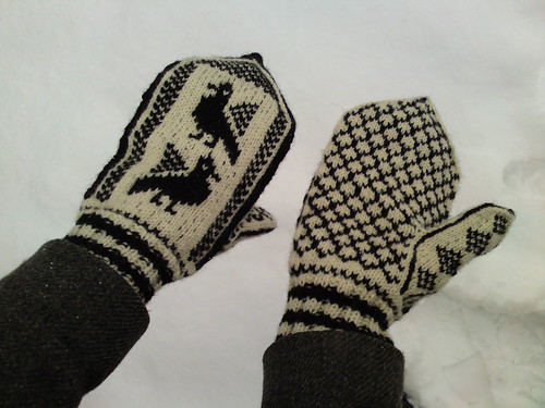 hugin and munin mittens