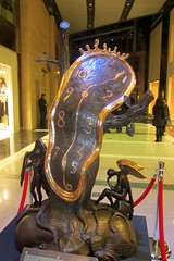 NYC: Dali at Time Warner Center - Nobility of Time