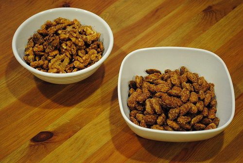 Candied Walnuts and Almonds
