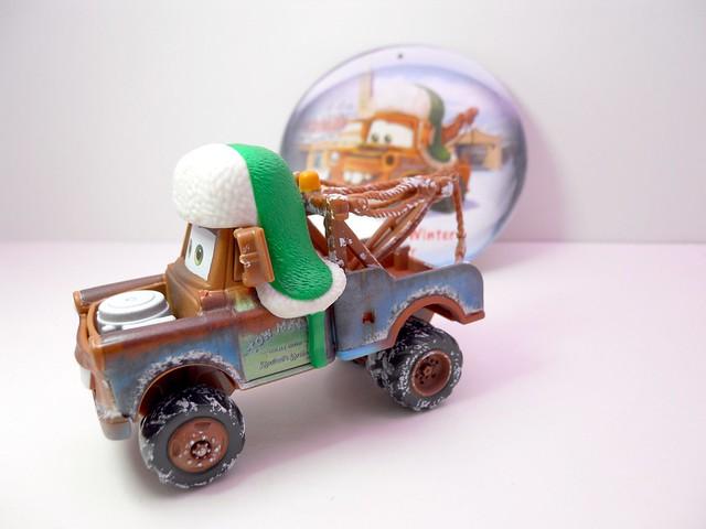 disney cars 2010 christmas WHEE HOO WINTER MATER (2)
