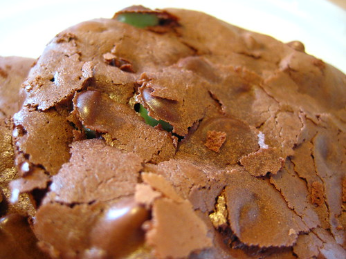 flourless peppermint fudge cookies