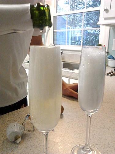 Champagne & Snow Slushies