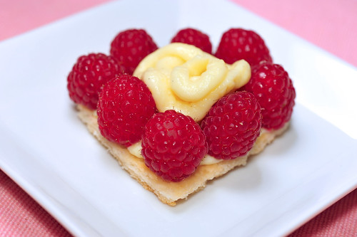 Heart-Shaped Raspberry Napoleon