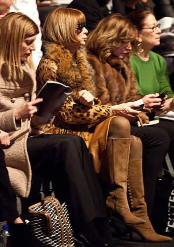 Sneak Peek: Anna Wintour, Front Row at Vera Wang