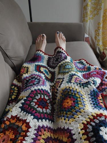 Hexie blanket - too short