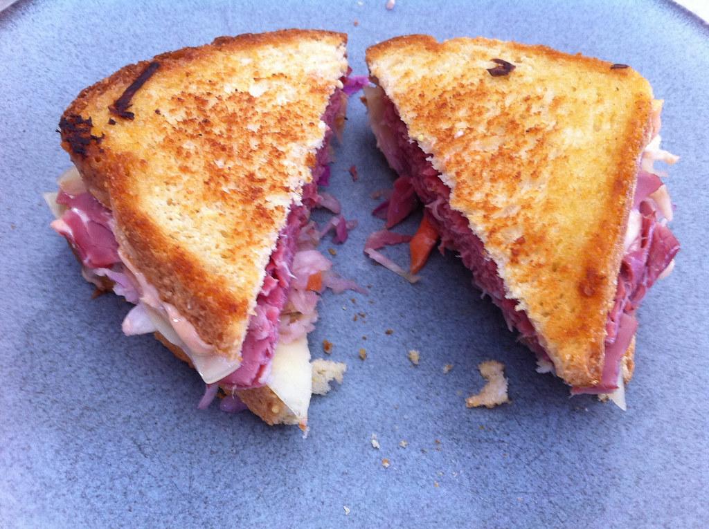 Gluten-free Reuben Sandwich