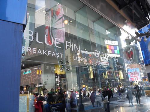Outside of Blue Fin