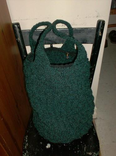Shadowed Cypress Project Bag