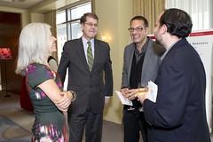 Susan Axelrod, Steve Clemons, Marc Adelman