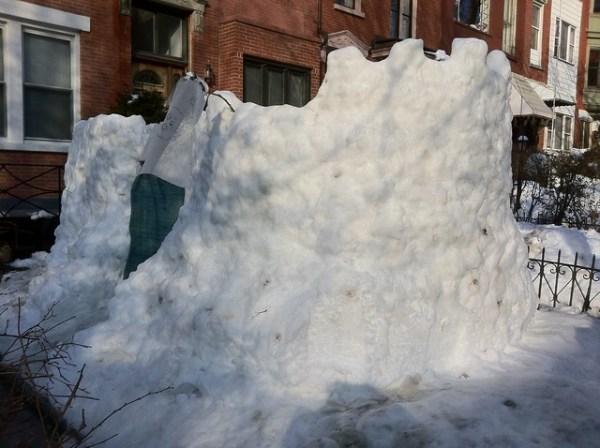 milton st. snow castle