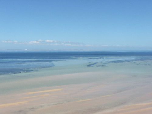 Changing Colors of Shark Bay's Waters