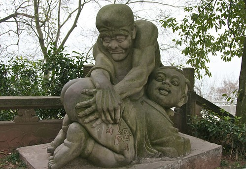 Statue at Fengdu