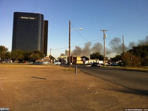 McAllen Medical Warehouse Fire Jan 2011 A