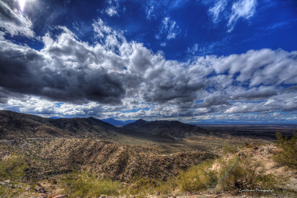 Big Sky from South Mountain