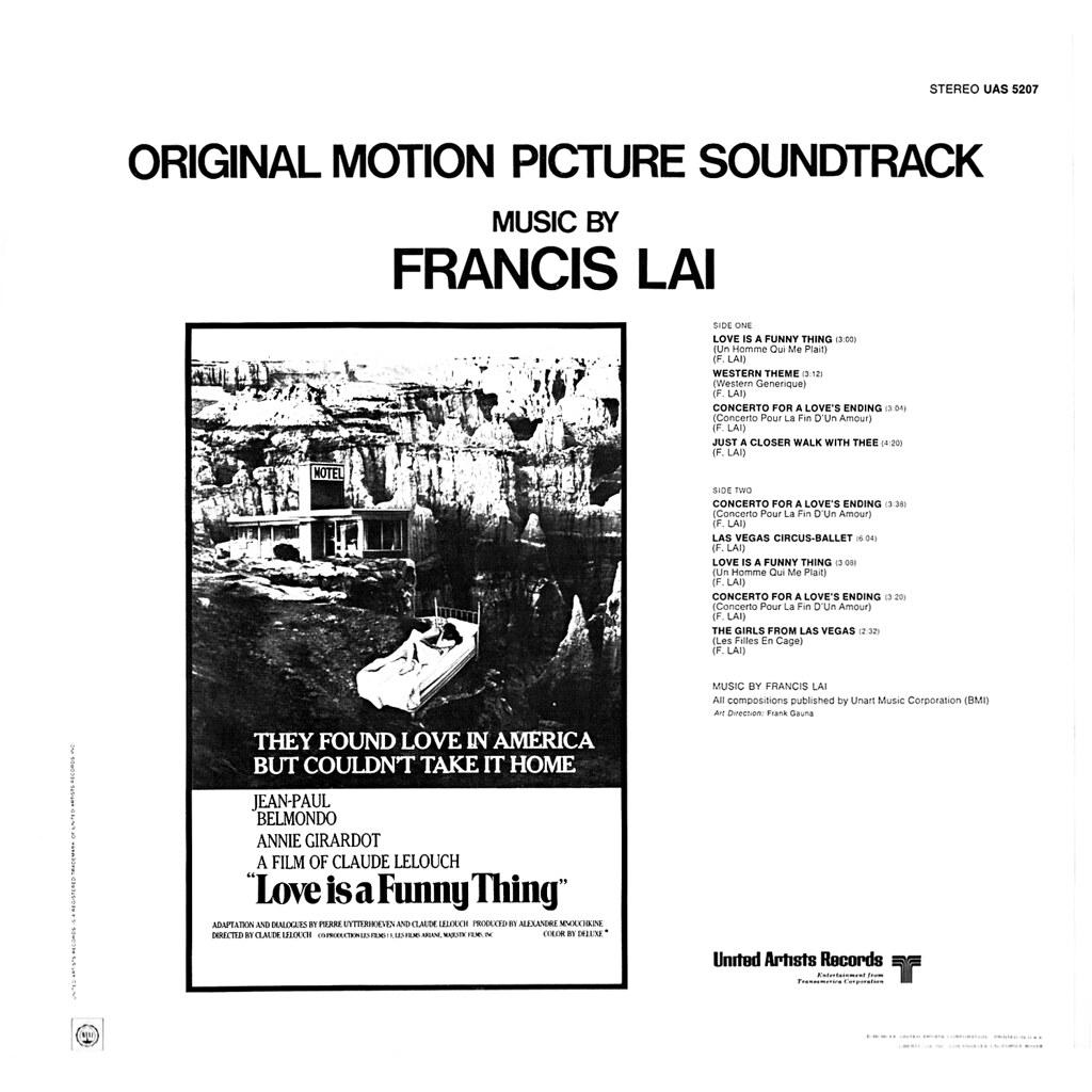Francis Lai - Un homme qui me plait