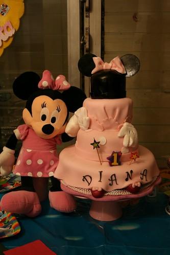 Minnie Cake (Diana)