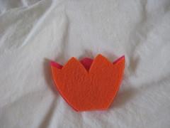 tiny tulips - 2 layered pieces