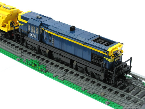 T class diesel-electric locomotive (flat top)