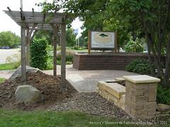 Switzer's Nursery & Landscaping Display at the Dakota County Fairgrounds in Farmington