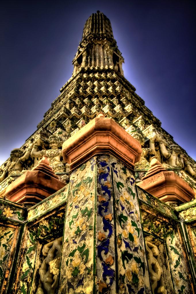Wat Arun side tower.