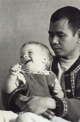 Dan with Nhat Hanh (1974)