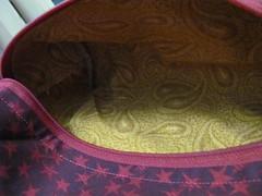 stars bag - inner