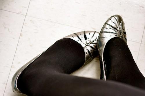 Festive feet.