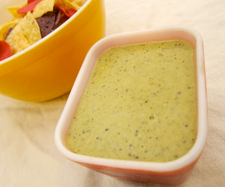 I  know how tardily it is to selection upwards a container of your favorite salsa H5N1 Slow Burn: Creamy Green Salsa