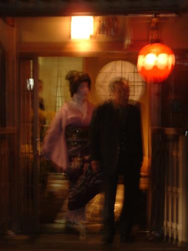 Geisha y su danna