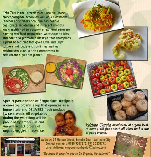 Simply Raw (a raw food workshop)