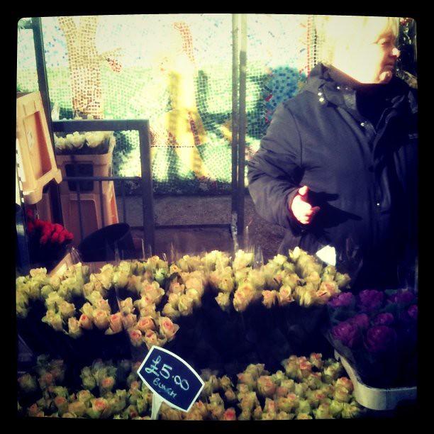 columbia flower market east london