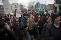 The march down State Street to the Capitol